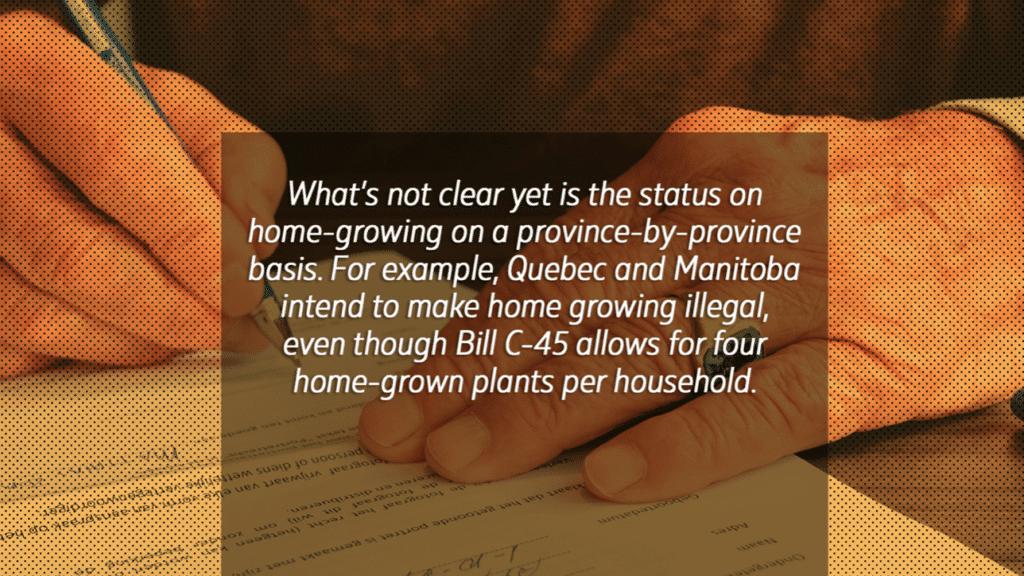 Bill C-45 Quote