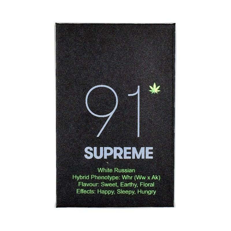 91 supreme shatter white russian