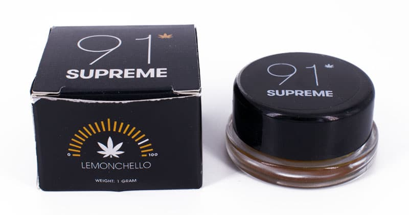 91 supreme live resin