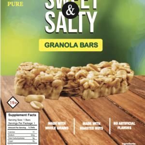 sweet & salty granola bars