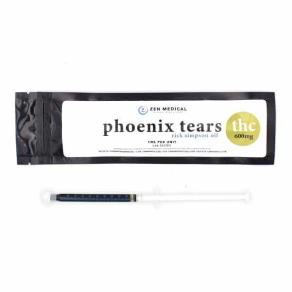 zen medical phoenix tears thc 600mg 1