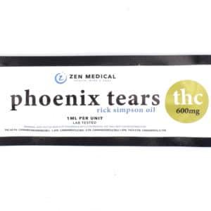 zen medical phoenix tears thc 600mg 2